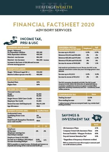 Financial Factsheet 2020